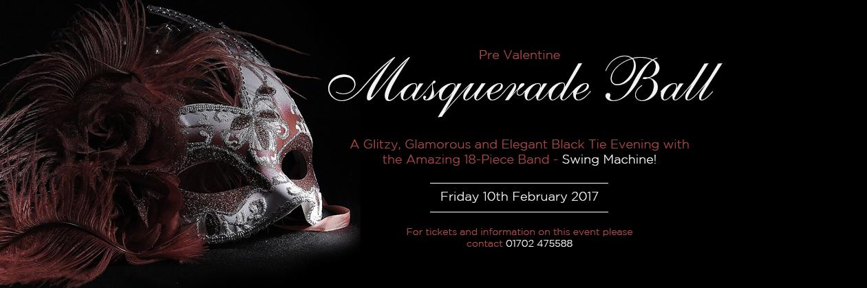 Pre Valentine Masquerade Ball