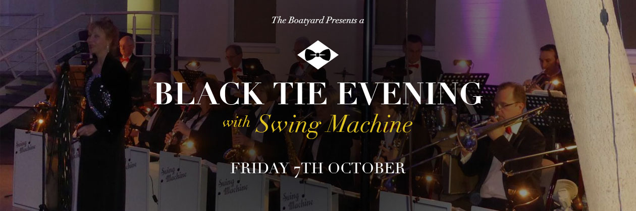An Black Tie Evening with Swing Machine